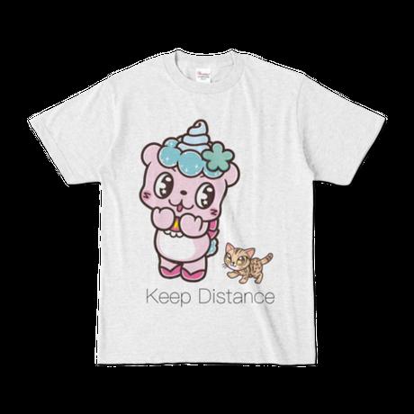 ましゅらむTシャツ【そうりょこみなの】アッシュ