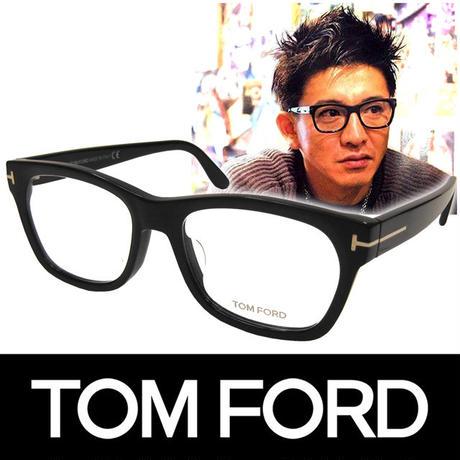 TOM FORD トムフォード だてめがね 眼鏡 伊達メガネ サングラス アジアンフィット キムタク着用モデル FT5468F 002 55  (76)