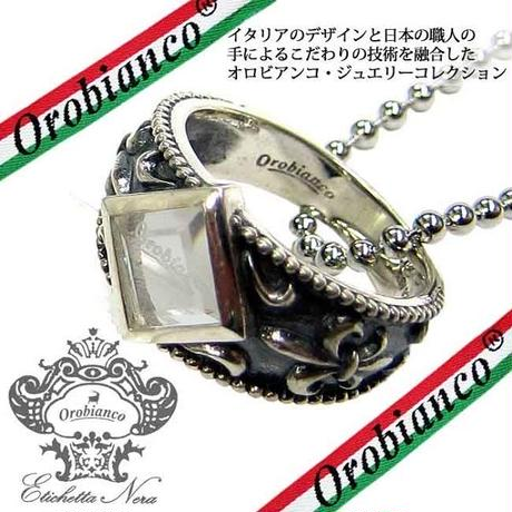 日本製 Orobianco オロビアンコ リング ネックレス 指輪 #17 #19 アクセサリー (219)(220) サイズ選択