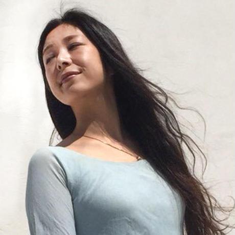 大地の女神ドレス(ブルー)
