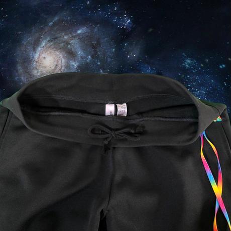 Gradations code setup sweatpant [BLACK]