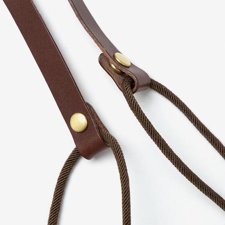 TANGO Pouch / White × D Brown