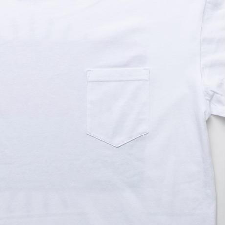 MAYSOLE ロゴ B/P ポケット付き Tシャツ YELLOW / GREEN