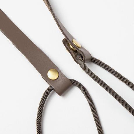 TANGO Pouch / Brown × Grey