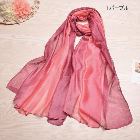 (MAYUDAMAシルク)シルク100% シルク スカーフ ストール 春・夏 ショール おしゃれ 防寒 日焼け防止 レディース …