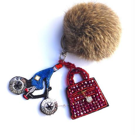 bag & cycle  | ビーズチャーム hand made beads charm