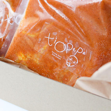 【コロナ支援】ぺぺおじさんの「越の鶏のコク旨 カレー4個セット」湯煎でOK!バター、オイル、小麦粉、化学調味料、保存料不使用