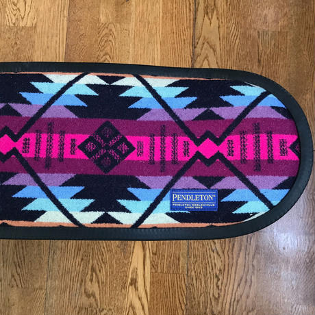 "PENDLETON×MB7r SKATE DECK STOOL BLACK ""COYOTE BUTTE NAVY"""