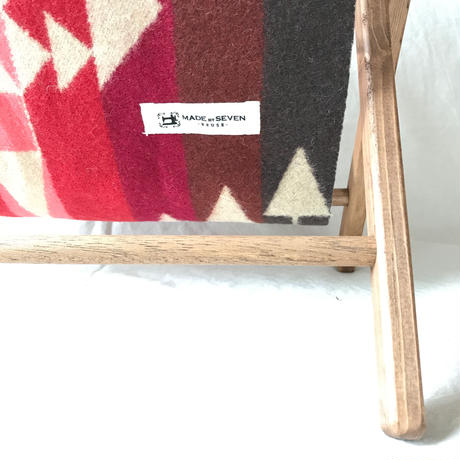 "PENDLETON×MB7r FOLDING MAGAZINE RACK ""BIG THUNDER SCARLET"""