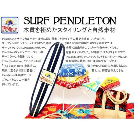 "SURF PENDLETON×MB7r TISSUE COVER ""LAHAINA WAVE"" TEAK BODY"