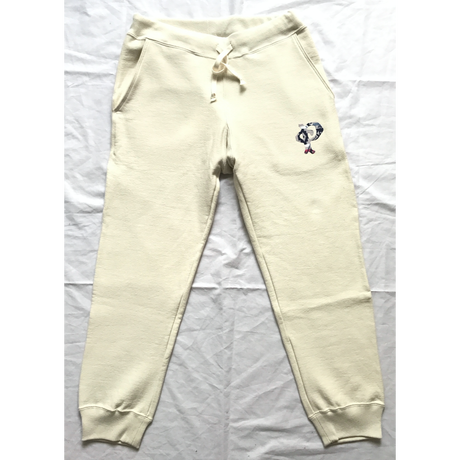 "PENDLETON×MB7r SWEAT PANTS  OFF WHITE ""OVER ALL BEIGE"""