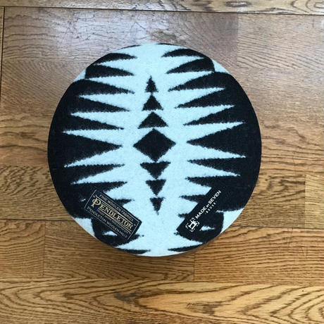 "PENDLETON×MB7r KNOT STOOL 903 MEDUIM ""WALKING ROCK "" BLACK"
