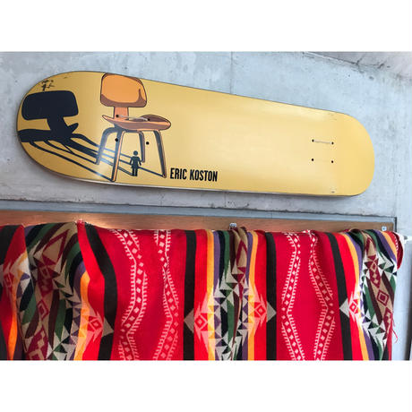 "2001年製 GIRL SKATEBOARDS The Modern Chair series SKATE DECK ""DCW"". Designed by Tony Larson."