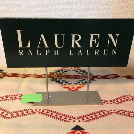 ユーズド RALPH LAUREN 店舗ディスプレイ用サイン