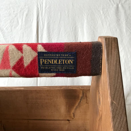 "PENDLETON×MB7r CARRYING STORAGE BOX ""BIG THUNDER SCARLET"""