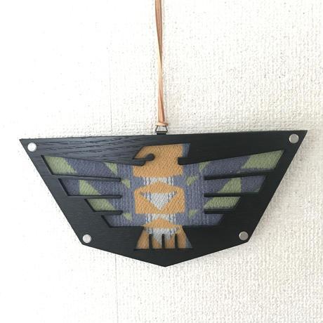 """【展示品】MB7r FABRIC WALL ART """"THUNDERBIRD""""  Black Wood"""