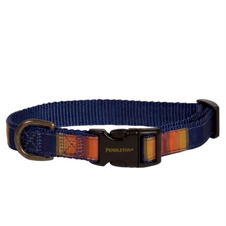 PENDLETON®  PET COLLECTION HIKER COLLAR - CRATER LAKE ナイロン製 首輪 クレーターレイク柄