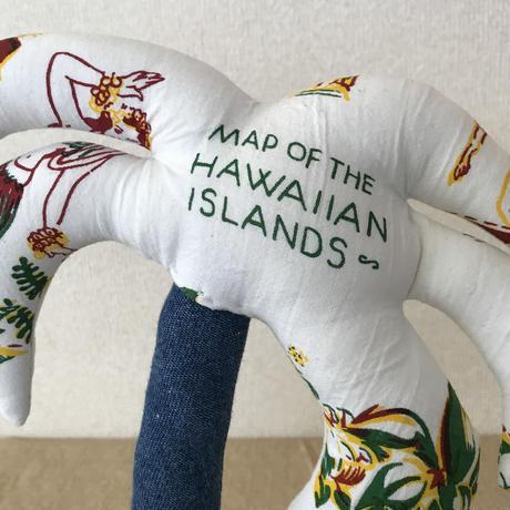 """【展示品】MB7r LITTLE PALM TREE PLANTS """"MAP OF THE HAWAIIAN ISLANDS"""" パームツリー"""