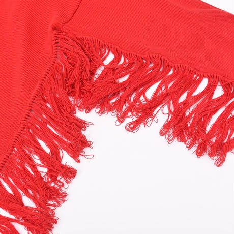 【DISCOVERED】Fringe knit