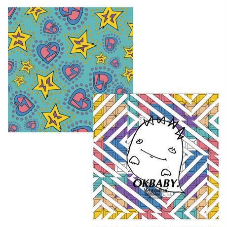 45cm角:【MCB451902】G/G 「OKBABY」(メガネ拭き・めがね拭き)
