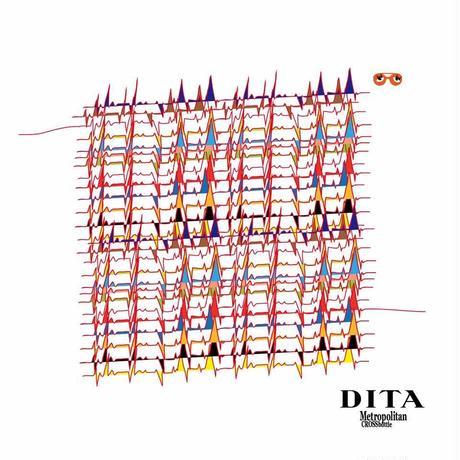 45cm角:【MCB451814】DITA「心電図」(メガネ拭き・めがね拭き)