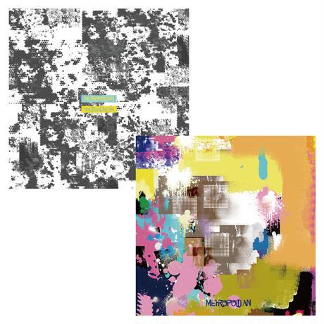 45cm角:【MCB452000】 G/G 『WHITE JACK』(めがね拭き・メガネ拭き)