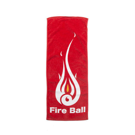 Fire Ball Towel(Red)