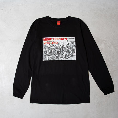 MIGHTY CROWN Tribute to VOLCANO x 20TH ANNIVERSARY L/S TEE