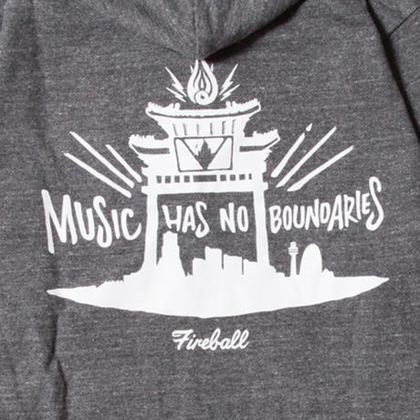 FIRE BALL-No Boundaries Hoodie