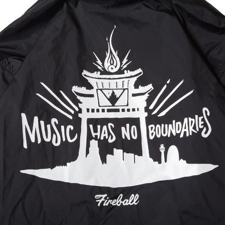 FIRE BALL- No Boundaries Coach Jacket