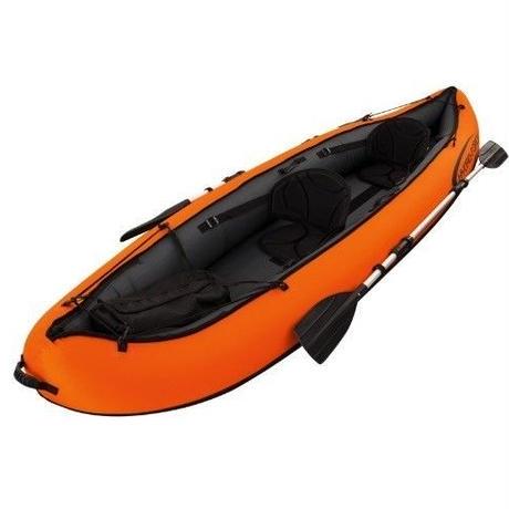インフレータブルカヤックボート 2人乗り 初心者 釣り 11ft 高級 フィッシングボート