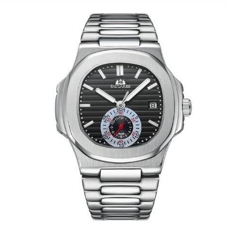 PAULAREIS P メンズ 自動巻腕時計 40mm 全6カラー