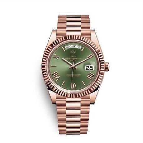 LGXIGE メンズ クォーツ腕時計 デイデイトスタイル 316ステンレス ミヨタムーブ搭載 11カラー