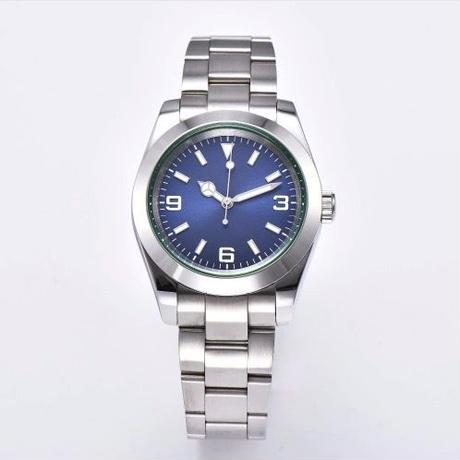 ノーロゴ腕時計 自動巻 メンズ 40mm エクスプローラースタイル 316L