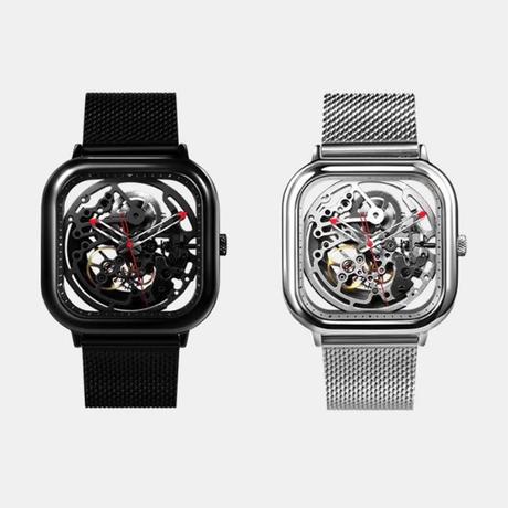 XIAOMI CIGA DESIGN メンズ 自動巻腕時計 機械式 レッド・ドットデザイン賞受賞モデル