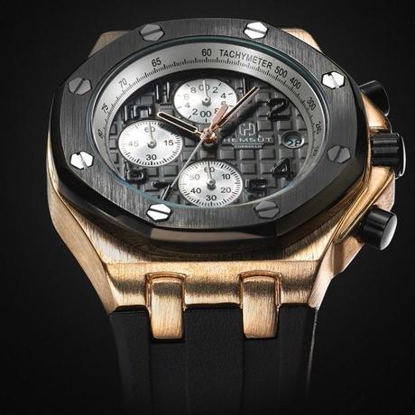 low priced 1ab78 b0774 オーデマピゲに似ている腕時計] Torbollo クォーツ腕時計 クロノ ...