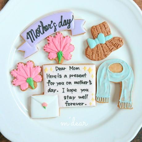 シーズンクッキー(母の日6枚セット)