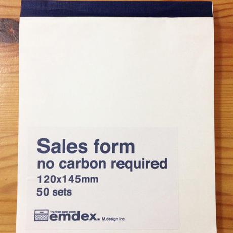 emdex Sales form セールスフォーム