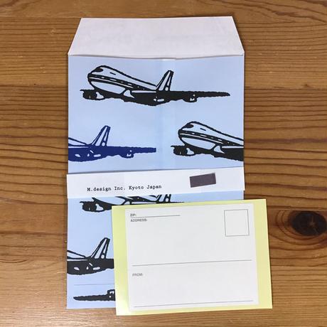 ミニレター 飛行機 MINI-131