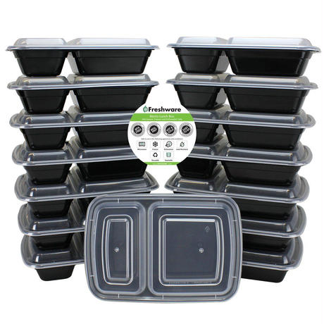 Freshware社 ミールプレップコンテナー (15パック)