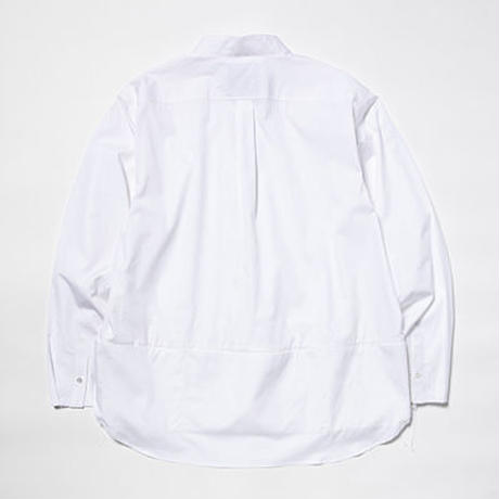 Hairline Stripe Packable SH/White[MW-SH19201]