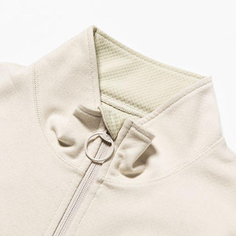 Water-Repellent Breathe Cloth Mid Shirts/L2/Natural[MW-CT19206]