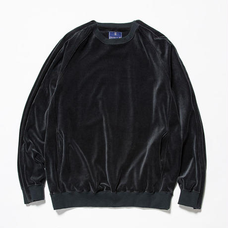 Velour Popper Sweat/CHARCOAL [MW-CT18202]