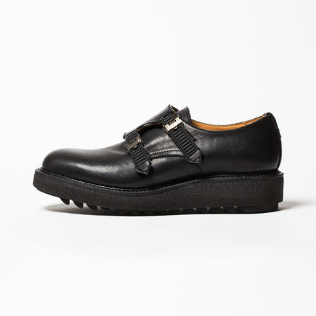 "Double Monk ""Conceal""/OFF BLACK [MW-SHOES18201]"