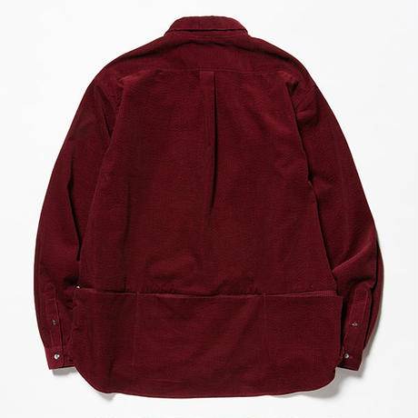 Packable Corduroy SH/WINE [MW-SH18201]