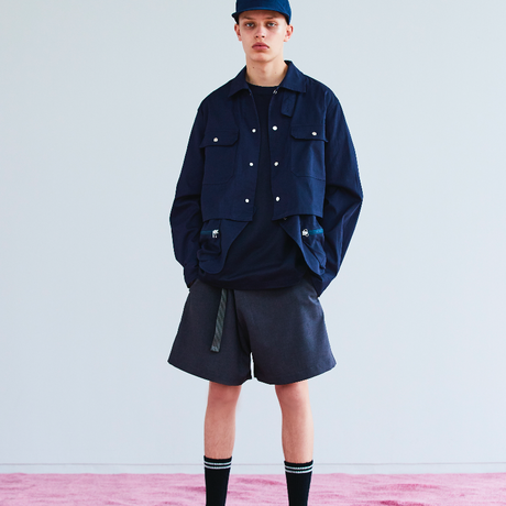 Easy Wrap Shorts/COAL [MW-PT19106]