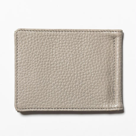 Leather Money Clip (Sand) / [MW-AC20101]