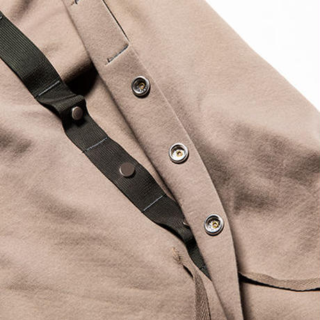Water-Repellent Breathe Cloth Hoodie/Olive[MW-CT19207]
