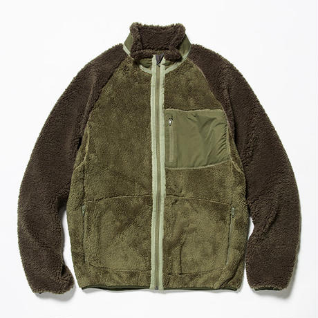 Behavior Fleece Jacket/KHAKI [MW-CT18203]