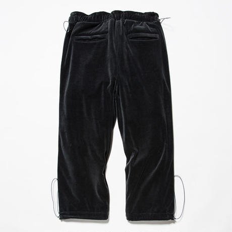 Velour Popper Pants/CHARCOAL [MW-PT18204]